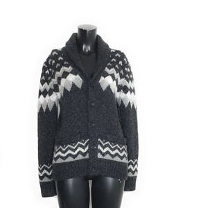 Abercrombie & Fitch Fair Isle Chunky Wool Sweater
